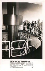 200-Ton Drive Shaft, Grand Coulee Dam Postcard