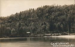 Camp Wawona, West Swanzey, N.H. Postcard