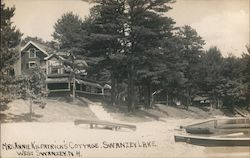 Mrs. Annie Kilpatrick's Cottage Postcard