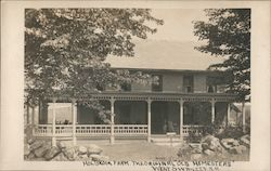 Holbrook Farm, The Original Old Homestead, West Swanzey, NH Postcard