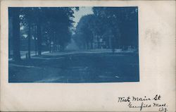 West Main St Postcard