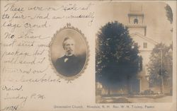 Universalist Church Postcard