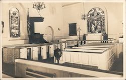 Interior, Old Swedes Episcopal Church