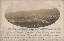 Overview of Derry Postcard
