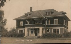 Phi Eta Kappa Fraternity, University of Maine Postcard