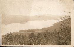 Indian Lake from Porter Mountain Postcard