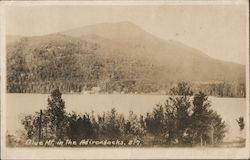 Blue Mt. in the Adirondacks Postcard