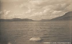 Otsego Lake, Cooperstown Postcard