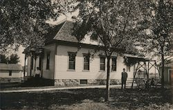 Jay A. Lease Family Home, 1908 Postcard