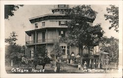 Octagon House Postcard
