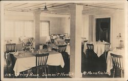 Dining Room, Summit House