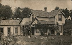 Large House Postcard