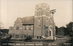 Holy Trinity English Lutheran Church Postcard