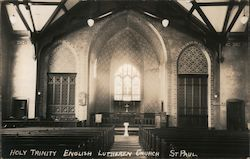 Holy Trinity English Lutheren Church Postcard