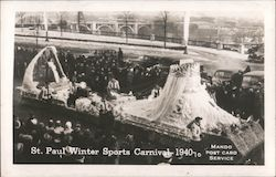 St. Paul Winter Sports Carnival 1940 Postcard