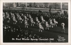 St. Paul Winter SPorts Carnival - 1940 Postcard