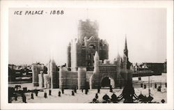 Ice Palace - St. Paul Winter Carnival Postcard