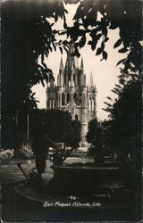 Cathedral and Square Postcard