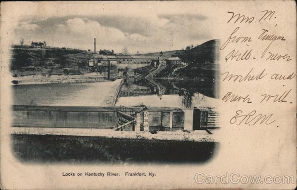 Locks on Kentucky River Frankfort