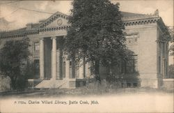 Charles Willard Library Postcard