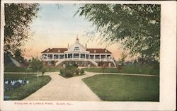Pavilion in Lord's Park Postcard