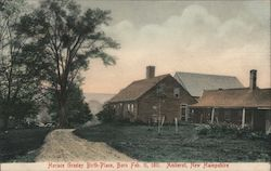 Horace Greeley Birthplace - Born Feb. 11, 1811