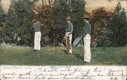 West Point, Golfing Postcard