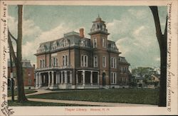 Thayer Library Postcard
