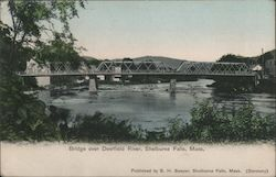 Bridge over Deerfield River Postcard