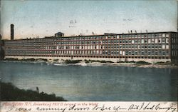 Amoskeag Mill II Largest in the World Postcard