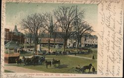 Central Sqaure, Jany. 27, 1906 Postcard