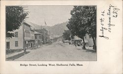 Bridge Street, Looking West Postcard