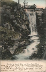 Overflow at Leydin Glen Postcard