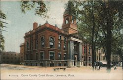Essex County Court House Postcard