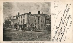 Washington, Corner Warren Street, Roxbury. In 1869