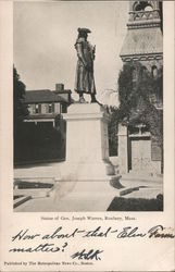 Statue of Gen. Joseph Warren