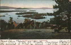 "Lake Winnipesaukee from ""Lakewood"""