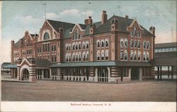 Railroad Station Postcard