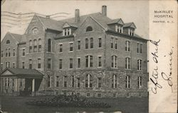 McKinley Hospital Postcard