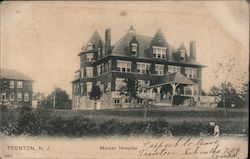 Mercer Hospital Postcard