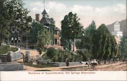 Residence of Superintendent Postcard