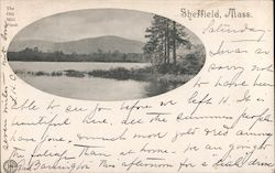 The Old Mill Pond Postcard