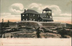 Mt Battle House, Mt Battle Postcard