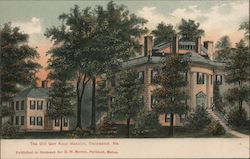 The Old Gen knox Mansion