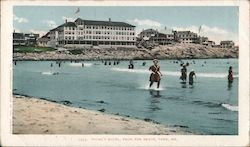 Young's Hotel, From the Beach