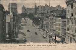 State Street, Looking towards the State Capitol
