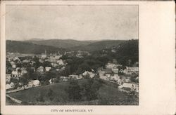 City of Mountpelier, Vt.