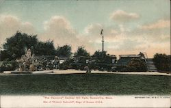 """The Cannons"" Centak Hill Park Postcard"
