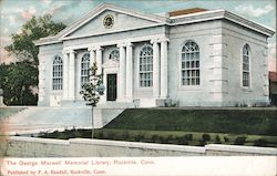 The George Maxwell Memorial Library Postcard
