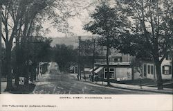 Central Street Postcard